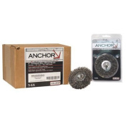 Anchor Crimped Wheel Brushes - 2'' mtd. crimp wheel med cfx-2 .0118 pop