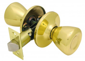 Ultra 43962 Polished Brass Passage Lockset Ultra Security Series