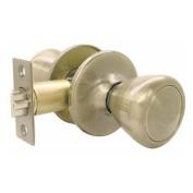 Ultra 43961 Passage Lockset Ultra Security Series Antique Brass Finish
