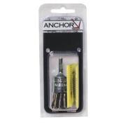 Anchor Brand 102-34EB20POP Anchor 3-4 Inch Knot End Brush Crse Ebb-40 .020 Pop