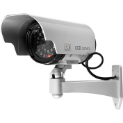 Trademark Security Camera Decoy with Blinking LED and Adjustable Mount
