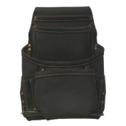 Style N Craft Ten Pocket Nail And Tool Pouch in Oiled Top Grain Leather