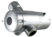 Exquisite 3-Way Diverter and Mount, Chrome