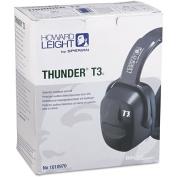 Howard Leight by Sperian Thunder Earmuffs - thunder t3 dielectric earmuff nrr 30