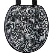 Zebra Soft Toilet Seat