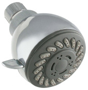Exquisite 3-Function Shower Head, Chrome
