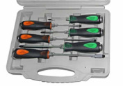 Mayhew Tools MAY66300 6 Pc Cats Paw Capped Screwdriver Set