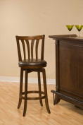 Hillsdale Furniture Savana Swivel Bar Stool in Cherry