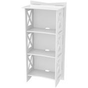 Legare Cottage Bookcase, White