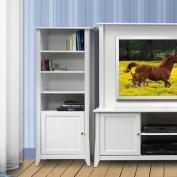 Vice Versa Curio Cabinet, White
