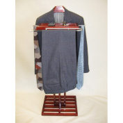 Proman Products Kyoto Wardrobe Valet in Mahogany
