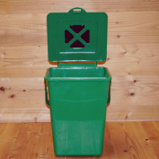 Eco Kitchen Compost Pail with Carbon filter , Green
