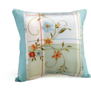 Better Homes and Gardens Embroidered Floral Pillow