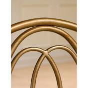 Hillsdale Furniture Emerson Vanity Stool, Golden Bronze