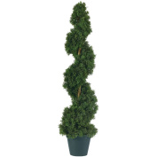 Nearly Natural 5161 Cedar Spiral Silk Tree 3