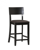 Linon Home Decor Torino Collection Contemporary Counter-Height Stool, Brown