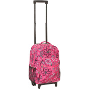 Rockland Luggage Roadster 43cm Rolling Backpack, Bandana