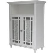 Elegant Home Fashions ELG-529 Windsor Double Door Floor Cabinet - White