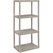 Enviro Elements 4-Tier Shelf Unit, 36cm x 60cm , Sand