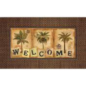 Masterpiece Palm Tree Doormat