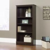 Sauder 4-Shelf Bookcase, Cinnamon Cherry