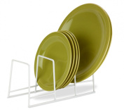 Honey-Can-Do Coated Steel Wire Plate Rack