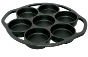 King Kooker Pre-Seasoned Cast Iron Biscuit Pan