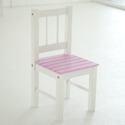 Lipper International Child's Table & Chairs, 3-Piece Set, Pink & White