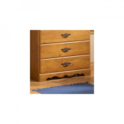 South Shore Prairie 2-Door Chest/Armoire, Country Pine