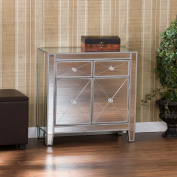 Illusions Collection Mirrored Cabinet