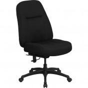 Flash Furniture Hercules High Back Big & Tall Office Chair, Black