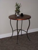 4D Concepts Hammered Metal Round Table