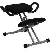 Ergonomic Kneeling Posture Office Chair, Black