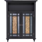 Elegant Home Fashions ELG-534 Windsor Double Door Floor Cabinet - Dark Espresso