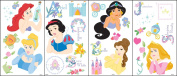 Blue Mountain Wallcoverings Princess Portrait Stick Wall Appliqu