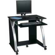 Office Star Designs Saturn Computer Desk, Black