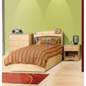Alegria 3-Drawer Mate's Bed, Maple