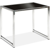Avenue Six 22 x 40cm x 47cm , YIELD GLASS END TABLE