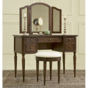 3-Piece Vanity, Mirror and Bench Set, Multiple Colours