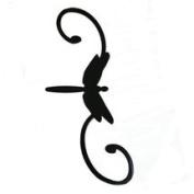 Erva Hook Decorative Dragonfly Black