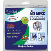PF Waterworks PlungeMAX - No Mess, Sanitary Toilet Plunger