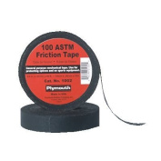 Plymouth Bishop Friction Tapes - 2''x60' 100 astm black friction tape