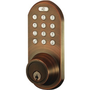 Morning Industry Inc QF-01OB 3-In-1 Remote Control and Touchpad Dead Bolt, Oil Rubbed Bronze
