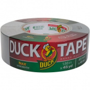Duck Max Strength Duct Tape, Silver, 4.8cm x 45 Yd