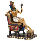Design Toscano Pharaoh's Queen on the Throne Statue