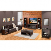 Elegance 124.5cm . TV Console with Bookcase