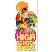 Blue Mountain Wallcoverings High School Musical Giant Decal Sticker