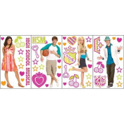 Blue Mountain Wallcoverings High School Musical Self Stick Room Appliqu