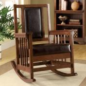Hokku Designs Valley Leatherette Arm Chair