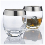 Wine Enthusiast Madison Avenue Whiskey Glasses, Set of 2